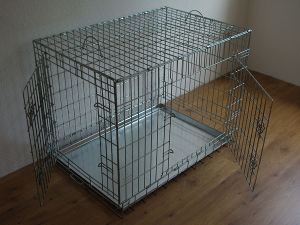 hundegitterbox xxl. Black Bedroom Furniture Sets. Home Design Ideas